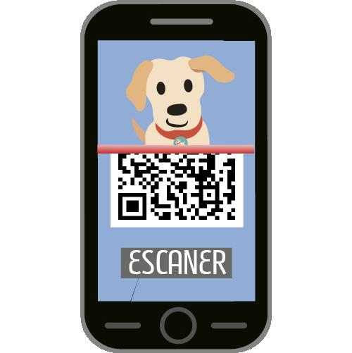 Su ID QR se escanea con cualquier Smartphone